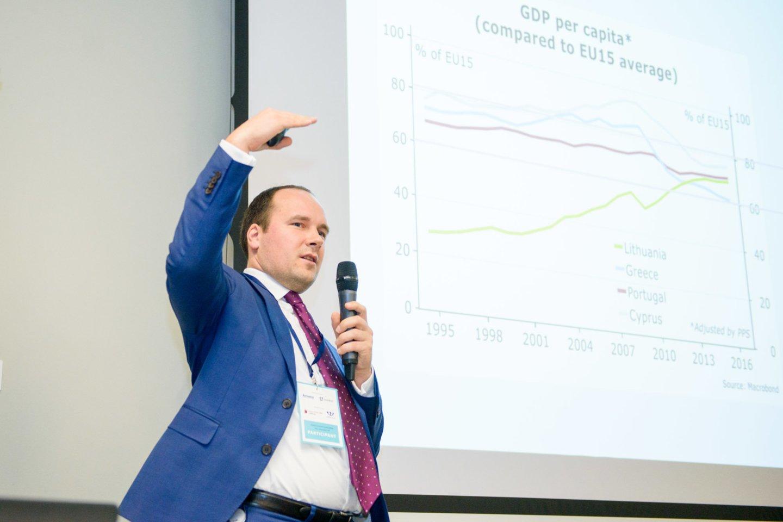Global Enterpreneurs week, verslininkų konferencija, Žygimantas Mauricas<br>J.Stacevičiaus nuotr.