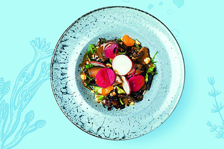 Burokėlių salotos su baklažanais