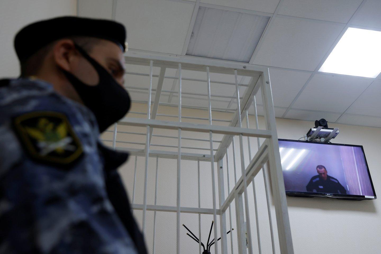 Aleksejus Navalnas.<br>Reuters/Scanpix nuotr.