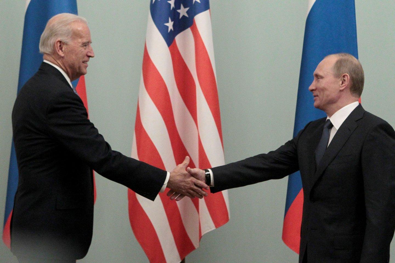 """JAV prezidento Joe Bideno ir Rusijos vadovo Vladimiro Putino susitikimas birželio 16 dieną vyks Ženevos """"La Grange"""" viloje.<br>Reuters/Scanpix nuotr."""