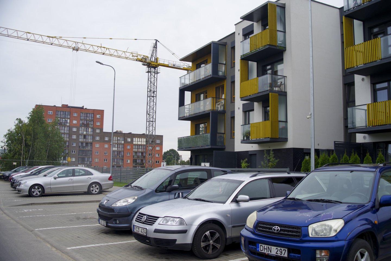 Būsto kainų augimas prasilenkia su gyventojų pajamų augimu.<br>V.Ščiavinsko nuotr.