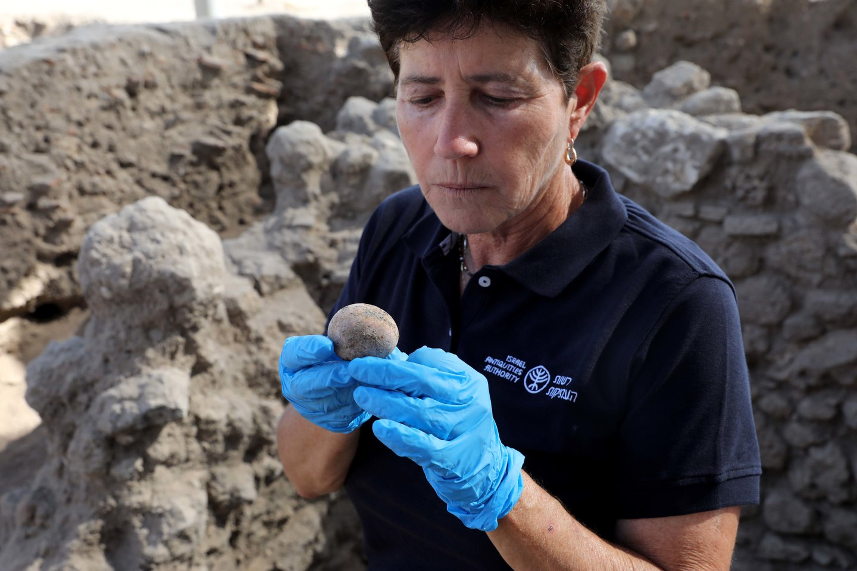 """""""Net pasauliniu mastu tai yra itin retas radinys"""", – sakė zooarcheologijos specialistė Lee Perry Gal iš Izraelio archeologijos instituto.<br>Zumapress / Scanpix nuotr."""