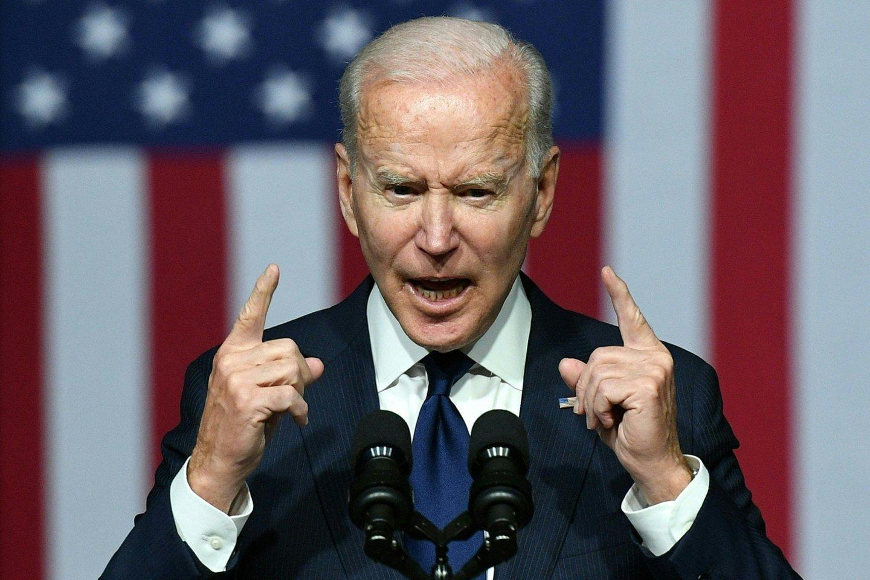 J.Biden.<br>AFP/Scanpix nuotr.