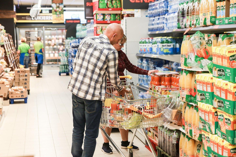 Nepanaudoto maisto kiekis vienai parduotuvei mažėjo daugiau kaip 1,5 tonos.<br>G.Bitvinsko asociatyvi nuotr.