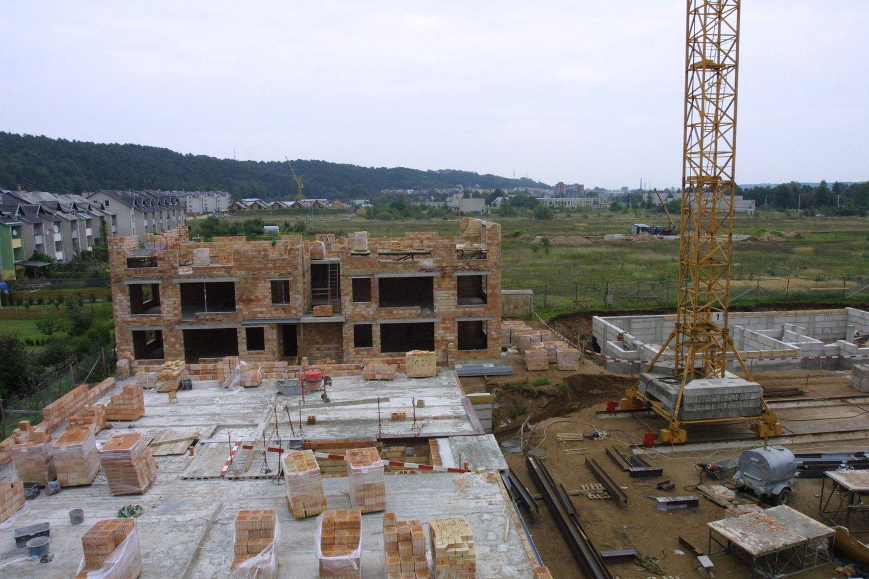 Kinijoje sukeltas statybinių medžiagų kainų cunamis jau drebina ir statybas Lietuvoje.<br>M.Patašiaus nuotr.