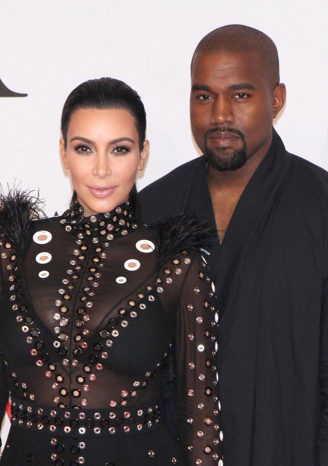 Kanye Westas su buvusia žmona Kim Kardashian.<br>Imago images/MediaPunch/scanpix nuotr.