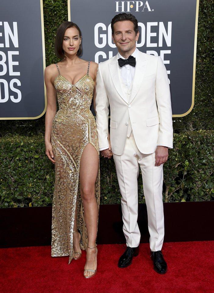 Bradley Cooperis su buvusia žmona Irina Shayk.<br>AP/scanpix nuotr.