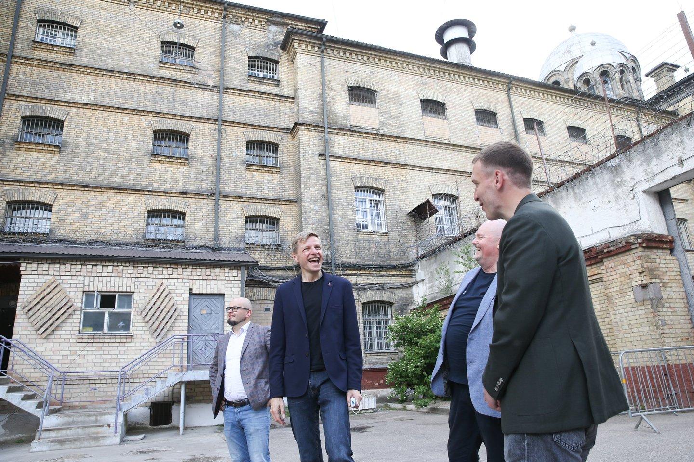 """""""Lukiškių kalėjimas, kuris pavadintas """"Lukiškių kalėjimas 2.0"""", kas reiškia geresnę jo versiją, pradeda savo naują gyvenimą ir atsidaro visuomenei ir Vilniaus miestui.<br>R.Danisevičiaus nuotr."""
