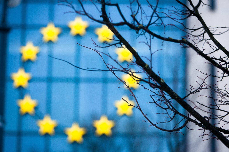 ECB nusprendė nekeisti palūkanų normų ir nemažinti pandeminės programos apimčių.<br>J.Stacevičiaus nuotr.