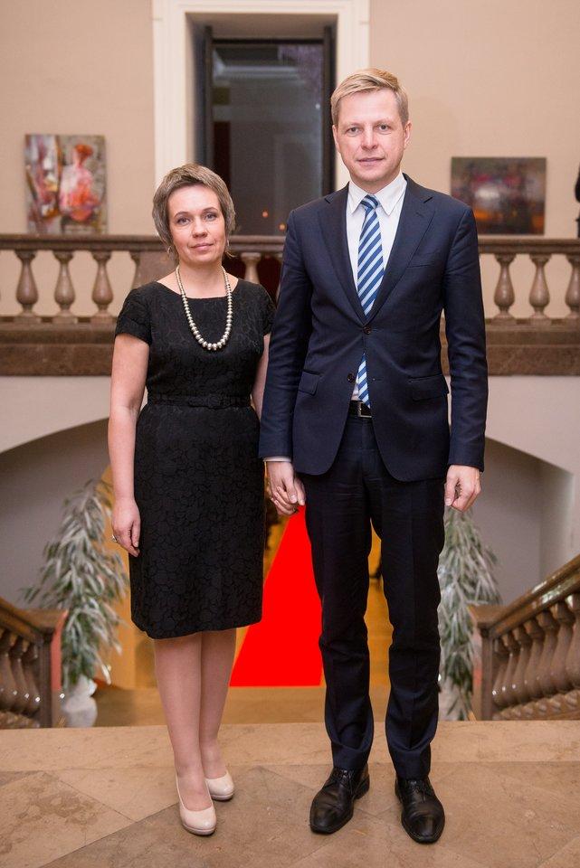 Remigijus Šimašius ir Agnė Matulaitė.<br>J.Stacevičiaus nuotr.