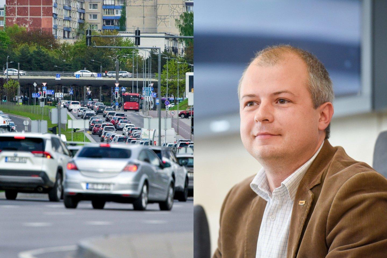 Aplinkos ministras Simonas Gentvilas papasakojo, kokį reikėtų pirkti automobilį ir kas laukia Lietuvos vairuotojų po kelerių metų.<br>lrytas.lt fotomontažas