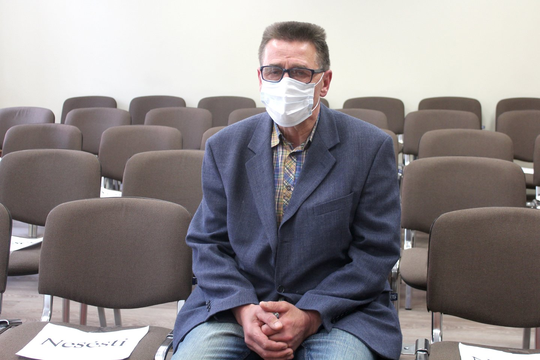 Kaltu dėl nužudymo pripažintam S.Baužiui už grotų teks praleisti 10 metų.<br>R.Vitkaus nuotr.