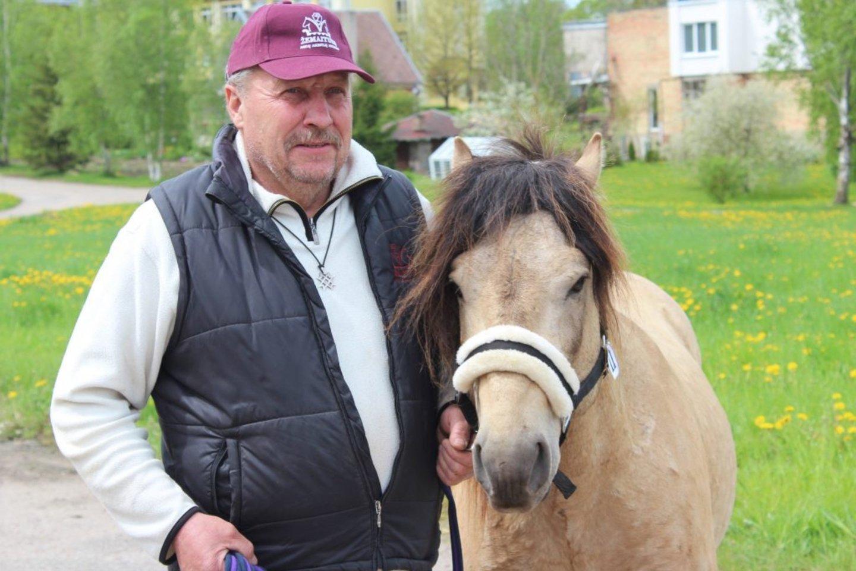 Ūkininkas Marijus Čekavičius – vienas iš žygio organizatorių.<br>A.Pelakausko ir G.Kniukštos nuotr.