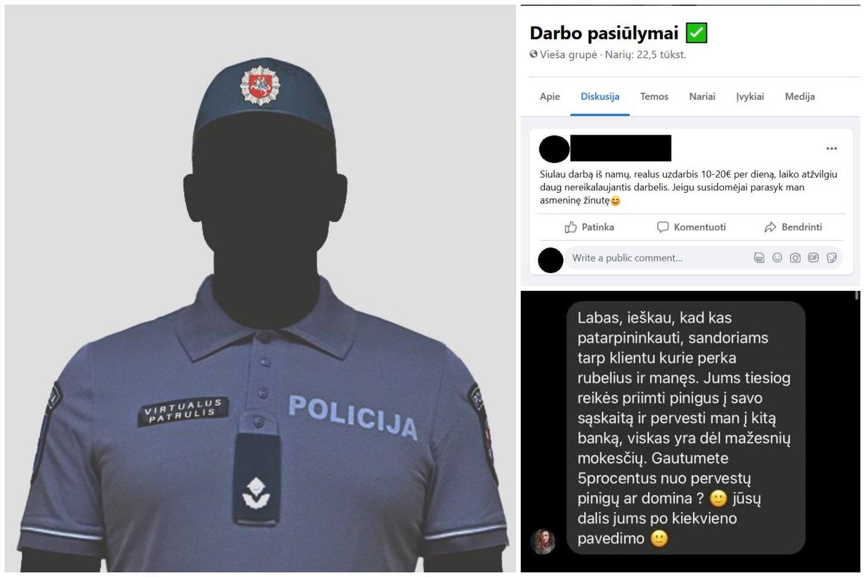 Virtualaus policijos patrulio perspėjimas: nemokamas sūris būna tiktai pelėkautuose.<br>Facebook/Policijos virtualus patrulis nuotr.