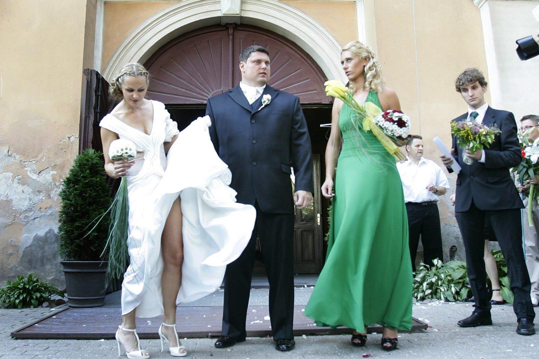 Ž.Savickas su Jurgita Vorobjovaite.<br>V.Balkūno nuotr.