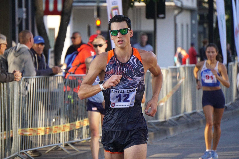Perseusas Kalstromas laimėjo varžybas 2020-siais.<br>M.Astrausko nuotr.