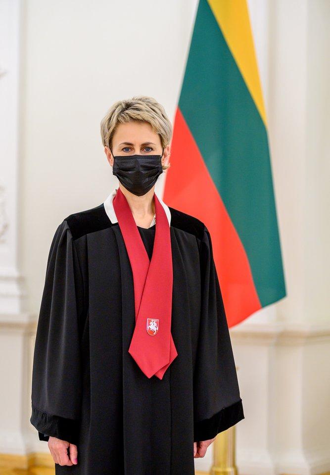 Nida Grunskienė.<br>Prezidentūros/R.Dačkaus nuotr.