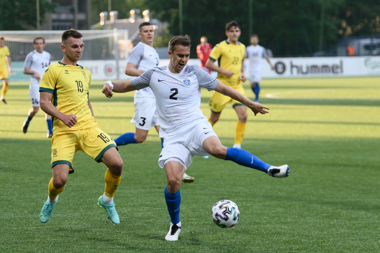 Estijos futbolo rinktinė laimėjo taurę.<br>V.Skaraičio nuotr.