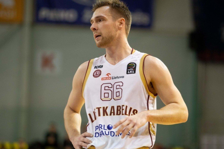 Paulius Valinskas<br>LKL/BNS nuotr.