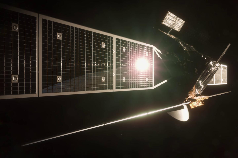 """Europos kosmoso agentūra (ESA) patvirtino, kad ateinančio dešimtmečio pradžioje planuoja pasiųsti į orbitą aplink Venerą šios planetos tyrimų aparatą """"EnVision"""".<br>ESA iliustr."""