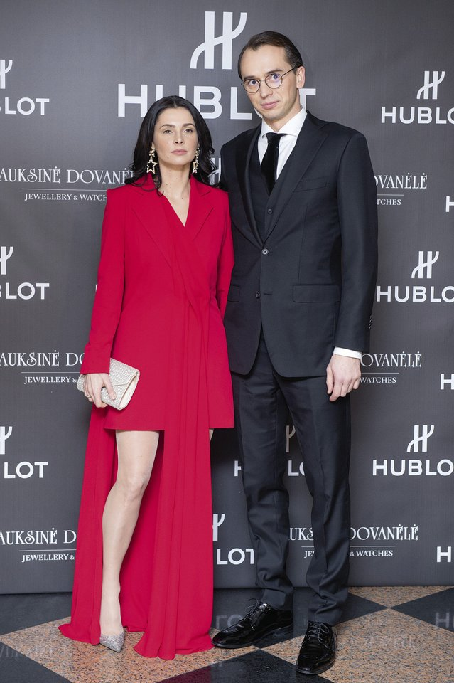 Agnė Jagelavičiūtė ir su buvusiu vyru Mantu Volkumi.<br>LR archyvo nuotr.