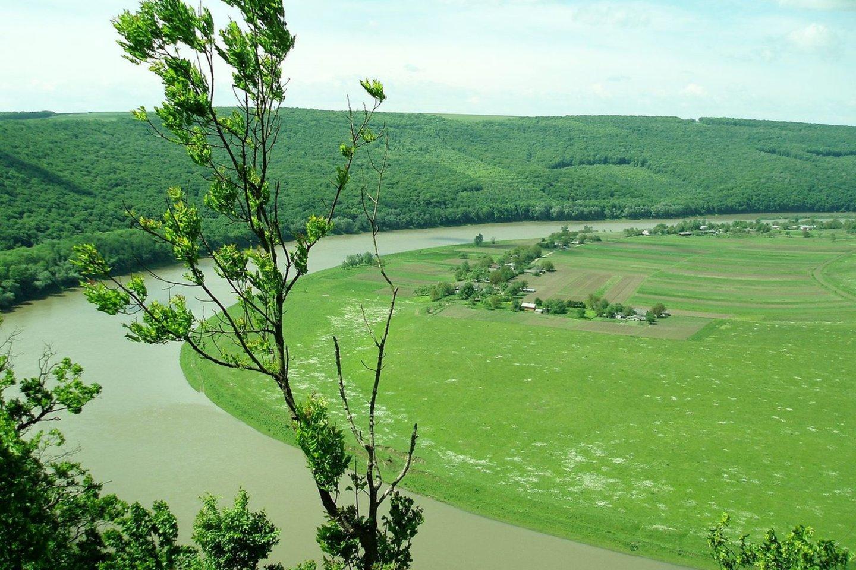 DniestrasTernopilio srityje (Ukraina)<br>Wikimedia commons