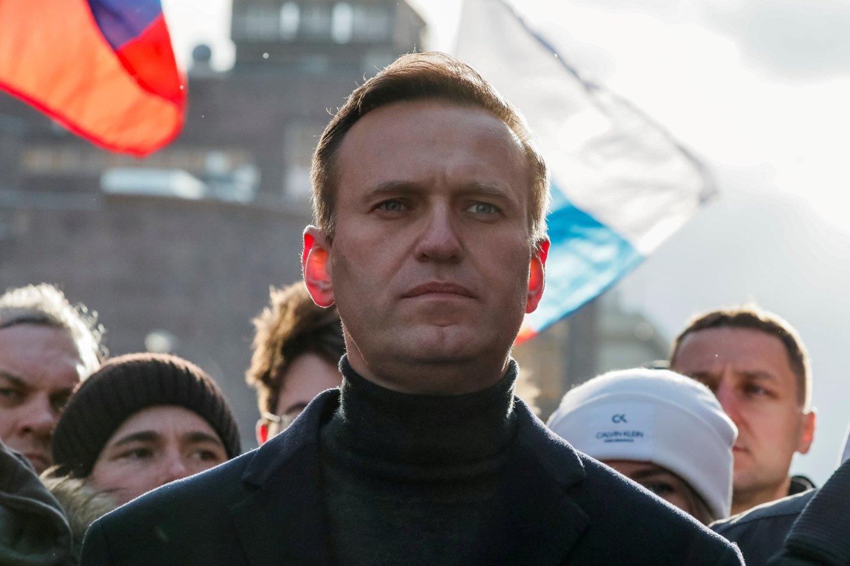 Rusija paskelbė A. Navalno fondo direktoriaus, Lietuvoje gyvenančio I. Ždanovo paiešką. <br>Reuters/Scanpix nuotr.