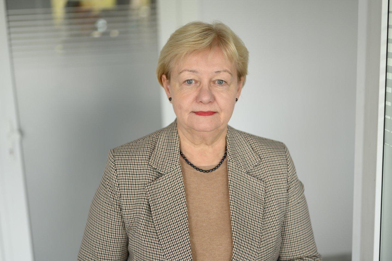 Daiva Razmuvienė, Nacionalinio visuomenės sveikatos centro specialistė.<br>V.Skaraičio nuotr.