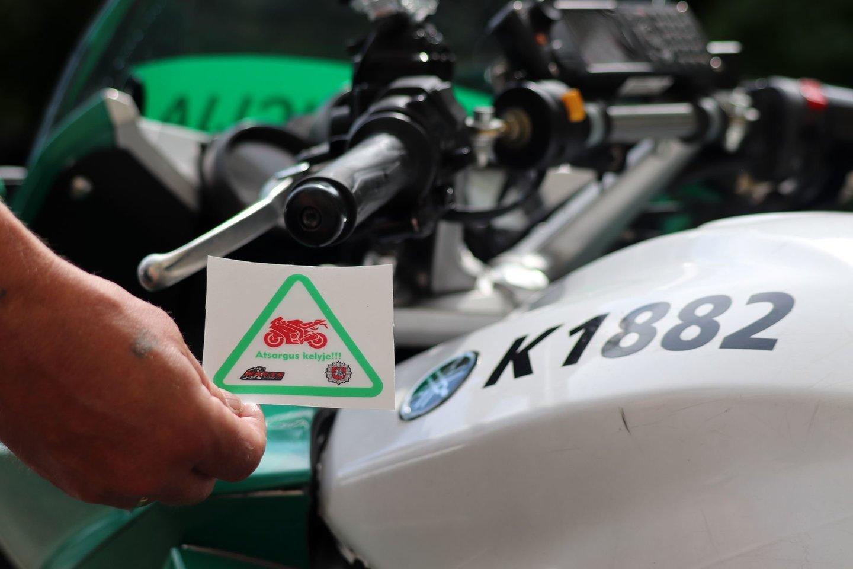 Dar pavasarį prasidėjęs motociklų ir motorolerių sezonas, beveik įpusėjus birželiui, įgauna pagreitį.<br>Pranešėjų spaudai nuotr.