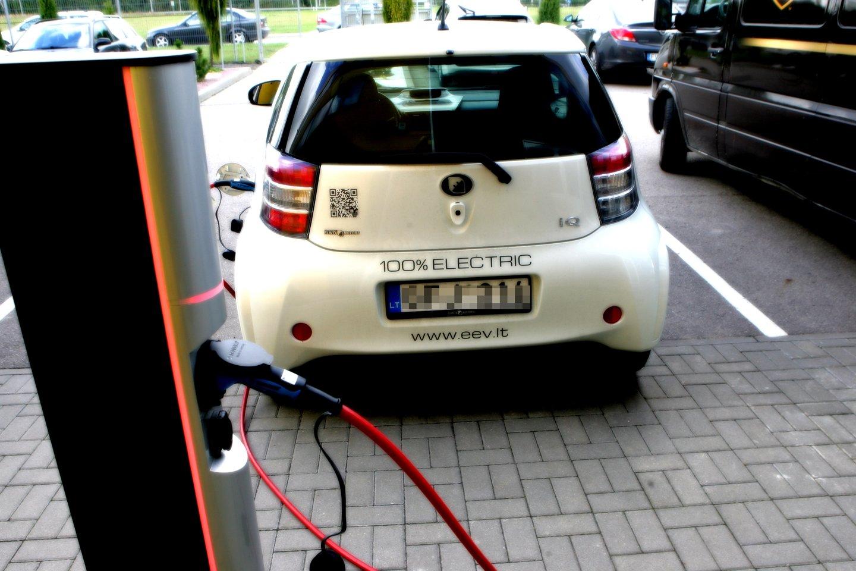 Elektromobiliai iš tikrųjų pradės dominuoti tik tada, kai jais bus užpildyta ir naudotų automobilių rinka.<br>P.Mantauto nuotr.