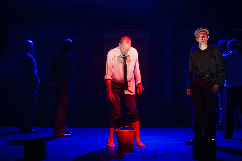 """Scena iš spektaklio """"Kaligula"""".<br>D.Stankevičiaus nuotr."""