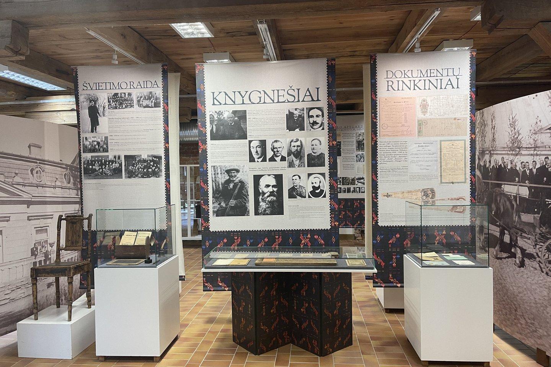 Zanavykų muziejus Šakių rajone ekspozicijas atnaujino neatpažįstamai.<br>Organizatorių nuotr.
