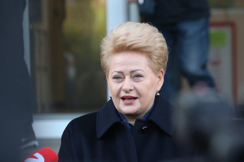 G.Vainauskas knygoje atskleidžia ir negirdėtų detalių apie Lietuvą 10 metų valdžiusią D.Grybauskaitę.<br>R.Danisevičiaus nuotr.