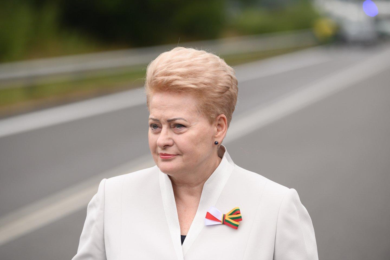 G.Vainauskas knygoje atskleidžia ir negirdėtų detalių apie Lietuvą 10 metų valdžiusią D.Grybauskaitę.<br>V.Skaraičio nuotr.
