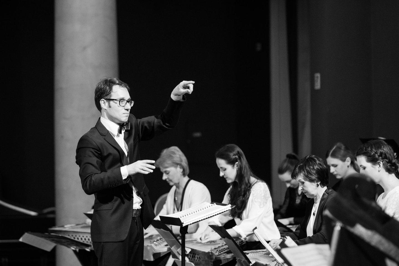 """Lux Aeterna"" programos sumanytojas – ""Lietuvos"" orkestro vadovas ir dirigentas E.Kaveckas."