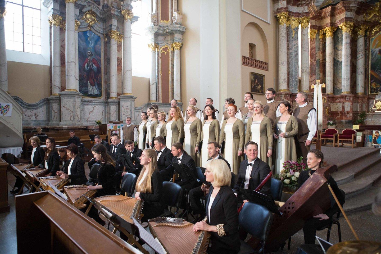 """Ansamblis """"Lietuva"""" parengė sakralinės muzikos programą """"Lux Aeterna"""".<br>M.Siruso nuotr."""