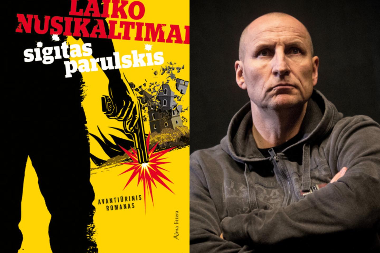 """Naujas rašytojo S.Parulskio kūrinys – siurrealistinis romanas """"Laiko nusikaltimai"""".<br>M.Vorobjovaitės nuotr."""