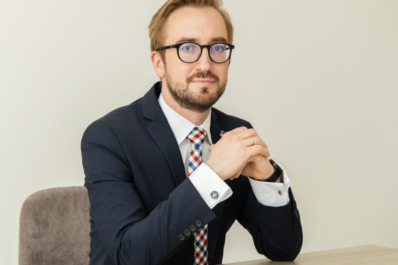 """""""Philip Morris Baltic"""" išorinių reikalų vadovas Baltijos šalims Liudas Zakarevičius."""