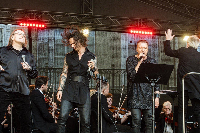 LVSO vasaros sezoną pradėjo nuo roko baladžių.
