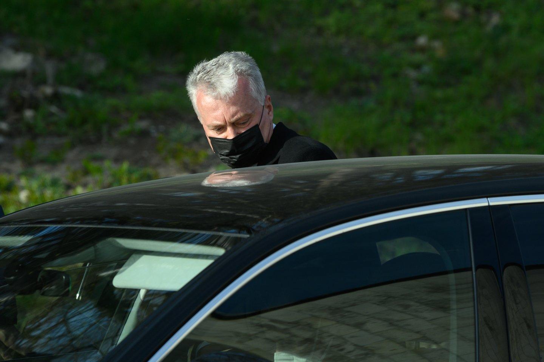 Prezidento G.Nausėdos komanda smarkiai susikirto su konservatorių lyderio G.Landsbergio vadovaujamos Užsienio reikalų ministerijos valdininkais.<br>V.Skaraičio nuotr.