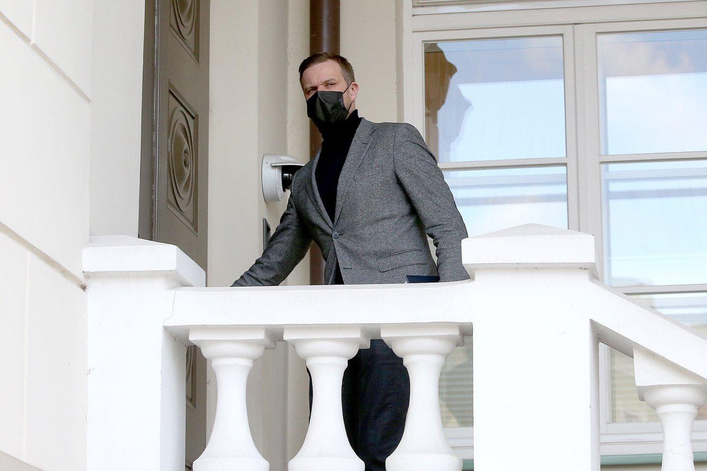 Prezidento G.Nausėdos komanda smarkiai susikirto su konservatorių lyderio G.Landsbergio vadovaujamos Užsienio reikalų ministerijos valdininkais.<br>R.Danisevičiaus nuotr.