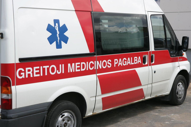 Panevėžio ligoninėje gydomas kava nusideginęs vaikas, policija pradėjo tyrimą.<br>T.Bauro asociatyvioji nuotr.