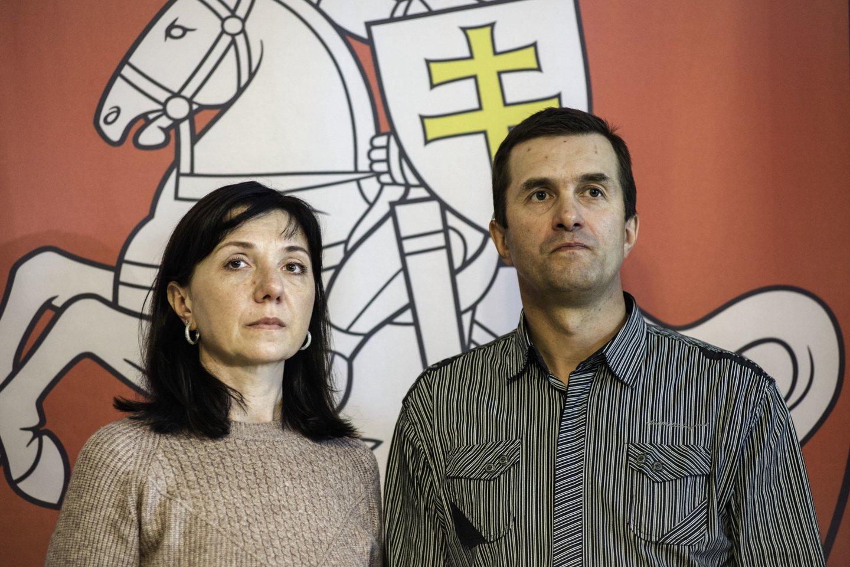 Natalija ir Dmitrijus Pratasevičiai.<br>ZUMAPRESS.com/Scanpix nuotr.