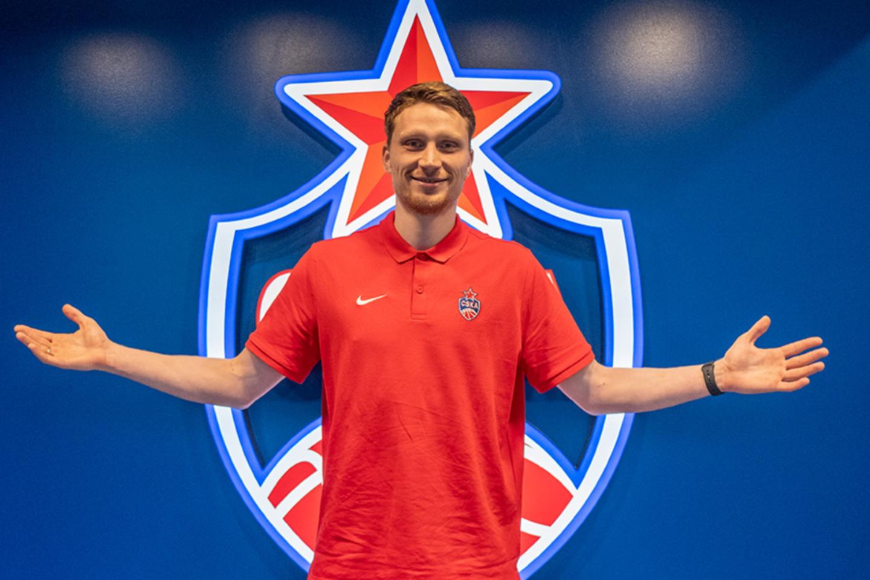 M.Grigonis Maskvoje uždirbs įspūdingą pinigų sumą.<br>CSKA klubo nuotr.