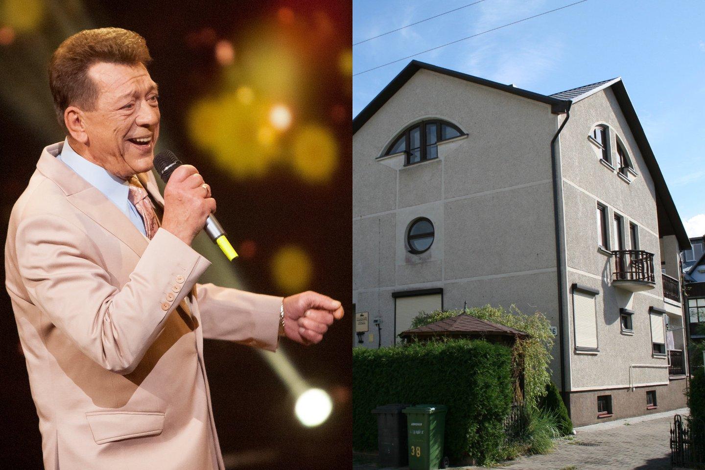 Legendinio dainininko Stasio Povilaičio statytame name Palangoje netrukus gali atsirasti kiti šeimininkai.<br>Lrytas.lt fotomontažas