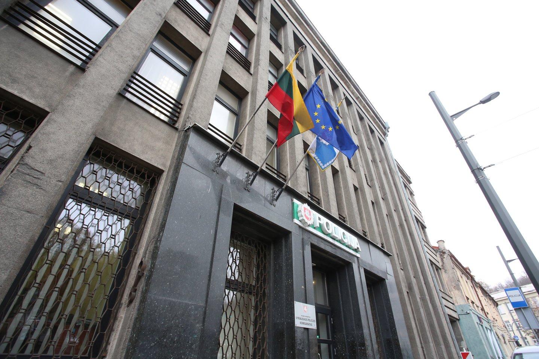 Netrukus apskrities vyriausiojo policijos komisariato pastatas visiškai ištuštės.<br>M.Patašiaus nuotr.