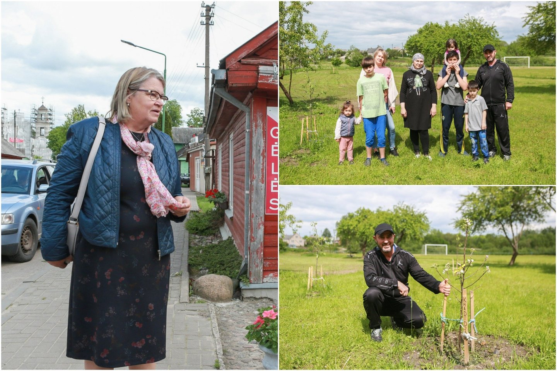 Į Lietuvą patekę užsieniečiai, prašantys prieglobsčio mūsų šalyje, iki šiol gyvendavo Pabradėje arba Rukloje. Bet nuo šių metų kovo dalis tokių žmonių apgyvendinami ir Prienų rajone, Jiezno paramos šeimai centre.<br>lrytas.lt koliažas.