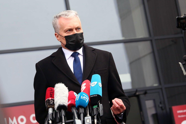 Prezidentas Gitanas Nausėda.<br>M.Patašiaus nuotr.