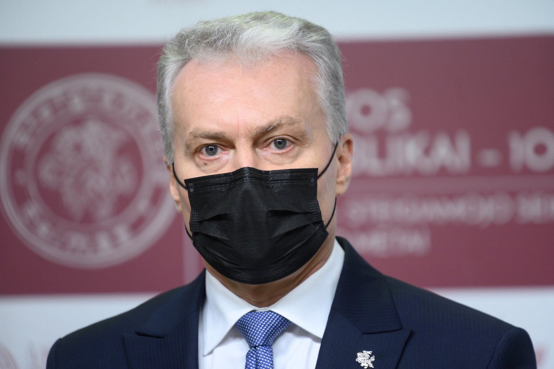 Prezidentas Gitanas Nausėda.<br>V.Skaraičio nuotr.