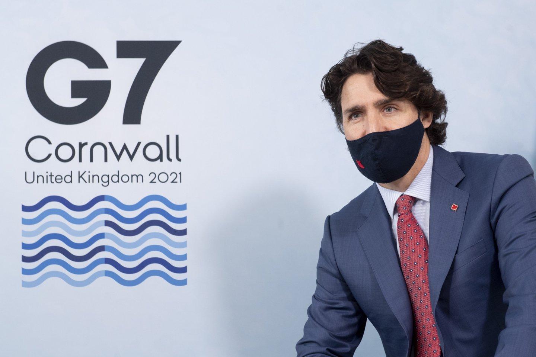 Didžiojo septyneto (G-7) lyderiai priėmė planą, padėsiantį kurti infrastruktūrą neturtingesnėse valstybėse.<br>ZUMAPRESS.com/Scanpix nuotr.